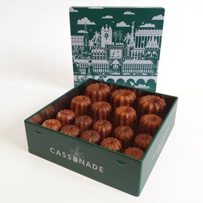 Coffret vert assortiment classique Cassonade Bordeaux