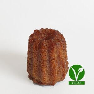 Cannelé vegan moyen Cassonade bordeaux