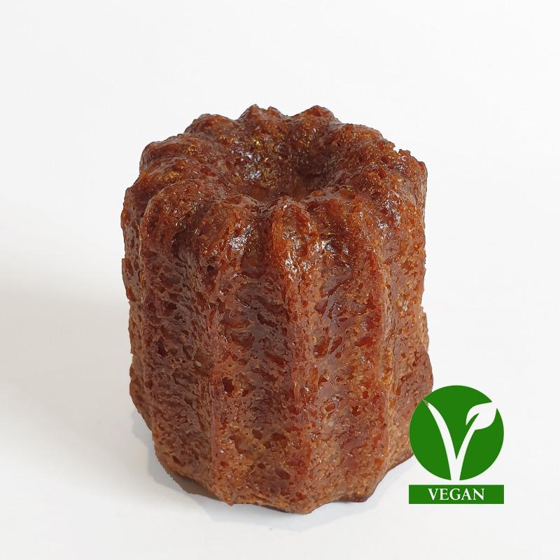 Cannelé vegan grand Cassonade bordeaux